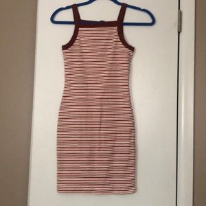 Striped Bodycon Dress - Never worn, no tags